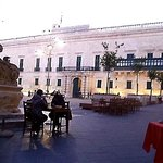 A view from an outdoors table - Grandmaster's Palace