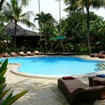 Very nice pool of the hotel