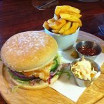 jumbo chicken burger