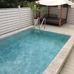 Pool and day bed at 410