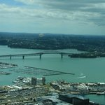 ANZAC Bridge and Harbour from the Sky Tower