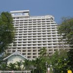 This is the Hilton hotel that overlooks some of the villas - BEWARE!