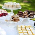 Dessert and cake buffet