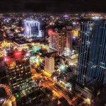 Uitzicht over Ho Chi Minh