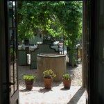 Hotel Garzon Courtyard, Treillised Dining Area