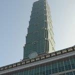 台北101を一周してみました。