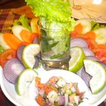 Green Salad served attractively