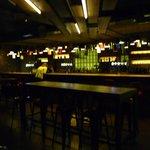 Le bar rénové