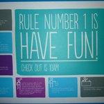 Les règles de base