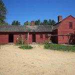 The Freeman Farm  on a lovely summer day.