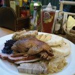 Assiette Morave de mariage ( pour gros mangeur...)