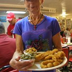 The help is as friendly as the food is tasty . . . a great stop while in Tomball, Texas