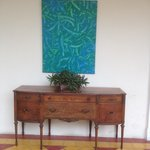beautiful art and antique furniture ensamblage