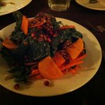 Spinach Salad at Robin's in Cambria