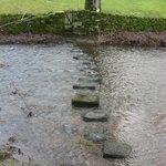 Stepping stones near Linton