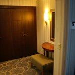 entrada de la habitacion