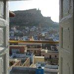 vue superbe de la chambre Maharani
