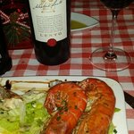 Mouth Watering Prawns and rolled swordfish - Amazing