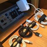 sehr aufmerksam - selbst meine kabel wurden jeden tag sorgfältig zusammengebunden!