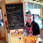 Barnish Cafe -  being served by Christine