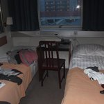 Our 'double' room!