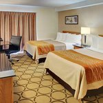 Spacious guest rooms!