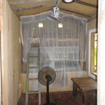 bunk beds in second bedroom in the mud hut