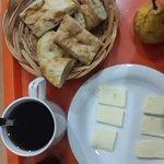 1st breakfast prepared by Georgie