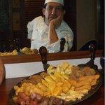 lo chef Venturino Francesco presenta il suo fritto misto alla piemintese