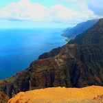 Napali Coast from Nualolo Lookout