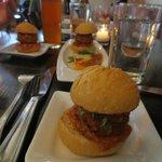Meatball Sliders - AWESOME on a bun