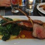Lamb Chops - Kale - Whipped Potatoes - DELISH