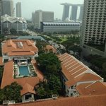 Room view during the day - Marina bay sands