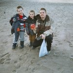 Some beach combers found one of the Lincoln City glass floats just south of the Sandcastle