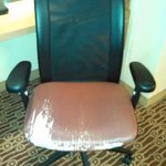 Ratty desk chair