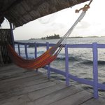My balcony with hammock