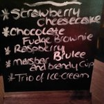 Desserts of the day, what to choose?