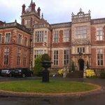 Entrance of Crewe Hall