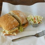 Fish torta is excellent