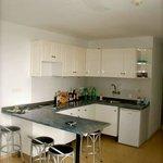 Lovely Little Kitchen Area.