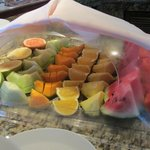 Fresh morning fruit