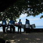 Sweet steelpan to accompany Saturday lunch buffet