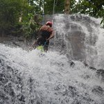 Water Fall Rappelling