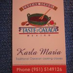 Karla Maria Marquez's cooking class is a must!