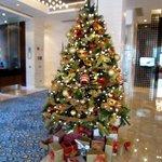 Holiday Lobby Decor