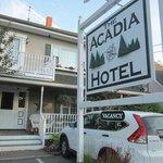 Front PORCH Entry Acadia Hotel