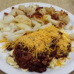 The Chili  Cheese Scrambler