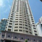 Legaspi street side of BSA Tower