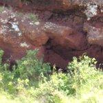 Cantera de lava roja