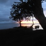 Sunset at Samaritano beach